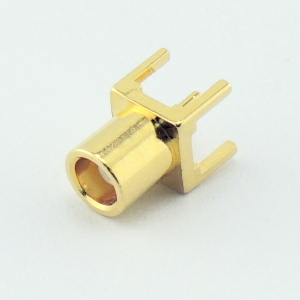 MCX jack straight connector for pcb smt 50 ohm 5MXF24S-P10