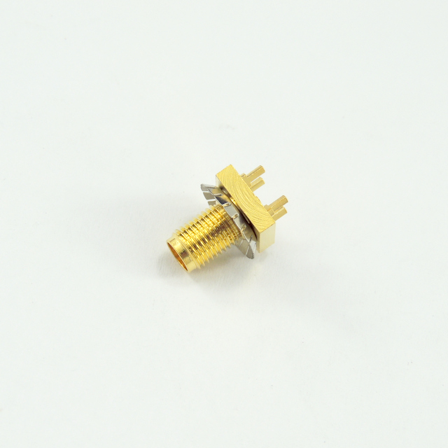 SMA jack straight connector for pcb smt 50 ohm 5MAF25S-P01-015