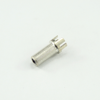 F jack straight connector for pcb end launch 75 ohm 7FCF24S-P01-009
