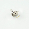 BNC plug straight crimp connector for RG179 cable 75 ohm 7BNM11S-A01-009