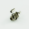 RP SMA jack straight crimp connector for ¢1.37 cable 50 ohm 5RMAF15S-A72-009