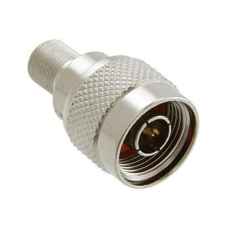 F Female to N Male Straight Adapter