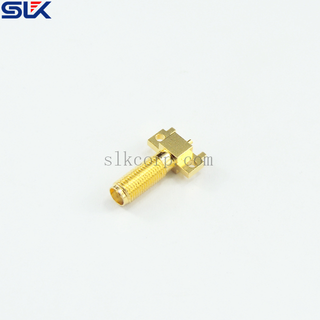SMA jack straight connector for pcb layout 50 ohm 5MAF25S-P41-003