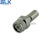 TNC plug straight crimp connector for LMR-100A cable 50 ohm 5TCM11S-A02-010