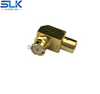 SMP jack right angle crimp connector for LMR-100A cable 50 ohm 5SPF11R-A409