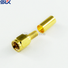 SMA plug straight crimp connector for RG142 cable 50 ohm 5MAM11S-A09-026