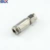 N jack straight solder connector for RG142 cable 50 ohm 5NCF14S-A09-001