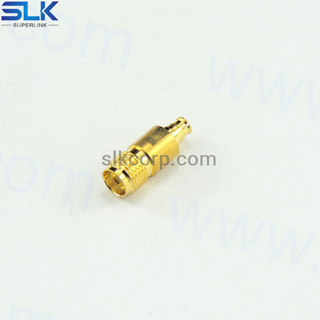 SMA female to SMP female straight adapter 50 ohm 5MAF05S-SPF