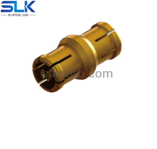 SSMP female to SSMP female straight adapter 50 ohm 5MPF06S-MPF-003