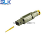 SMA plug straight solder connector for SFT-205 cable 50 ohm 5MAM15S-A207-011