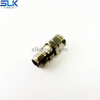 SSMP female to 2.4mm male straight adapter 50 ohm 5MPF06S-P4M