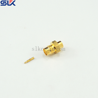RP SMA jack straight crimp connector for RG316 cable 50 ohm 5RMAF11S-A02-003