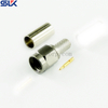 SMA plug straight crimp connector for LMR-100A LMR-100A-UF cable 50 ohm 5MAM11S-A02-048
