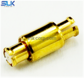 SMP female to SMP female straight adapter 50 ohm 5SPFS-SPF-004