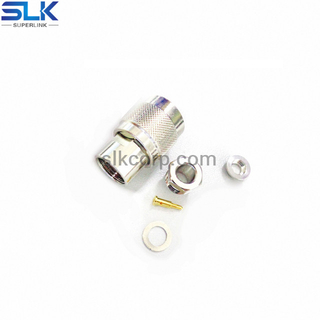 TNC plug straight clamp connector for LMR-300 cable 50 ohm 5TCM14S-A130-001