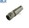 N plug straight crimp connector for RG-214 cable 50 ohm 5NCM11S-A06-009