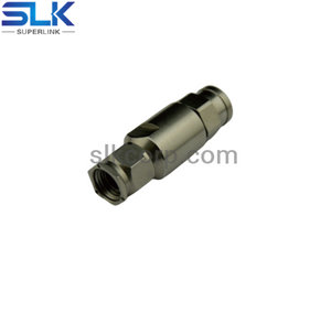 SMA plug straight clamp connector for SFT-304 cable 50 ohm 5MAM15S-A71-006