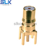 KSA jack straight connector for pcb 50 ohm 5QAF25S-P01-002