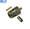N jack straight crimp connector for LMR-100A cable 50 ohm 5NCF11S-A409-001
