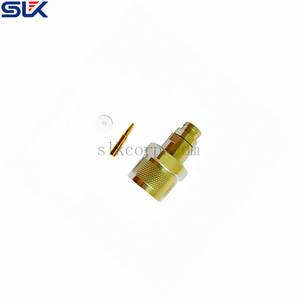 SC female to SMA female straight adapter 50 ohm 5CEF06S-MAF