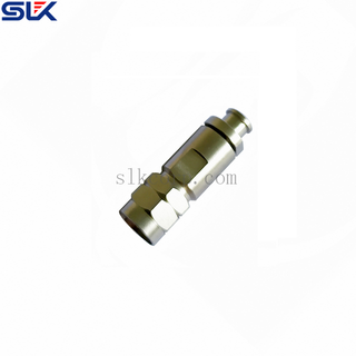 1.85mm plug straight clamp connector SLB-230-P cable 50 ohm 5P1M15S-A564-008