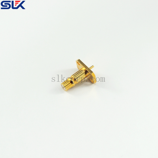 QMA jack straight connector for pcb end launch 50 ohm 5QAF28S-P21