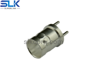 BNC jack straight connector for pcb 50 ohm 5BNF25S-P41-020