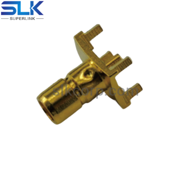 SMB jack straight connector for pcb smt 75 ohm 7MBF27S-P41