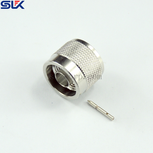 N plug straight solder connector for SS402 cable 50 ohm 5NCM15S-A81-006
