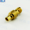 SMA female to MCX female straight adapter 50 ohm 5MAF05S-MXF