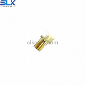SMA jack straight connector for pcb end launch 50 ohm 5MAF28S-P41-022