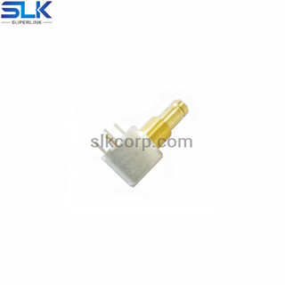 1.0/2.3 jack right angle connector for pcb smt 50 ohm 5A1F25R-P41-004