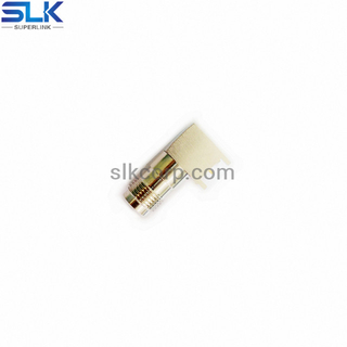 TNC jack right angle connector for pcb through hole 50 ohm 5TCF25R-P41-003