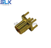MMCX jack straight connector for pcb 50 ohm 5MCF25S-P41-009