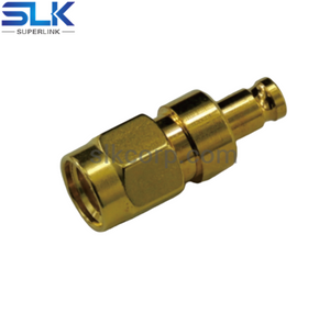 1.0/2.3 female to SMA male straight adapter 50 ohm 5A1F06S-MAM