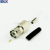 TNC jack straight crimp connector for LMR-500 cable 50 ohm 5TCF11S-A351
