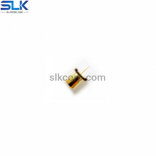 MCX jack straight connector for pcb smt 75 ohm 7MXF25S-P41-002