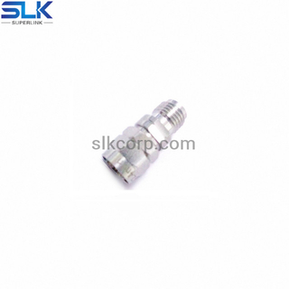 1.85mm female to 2.4mm male straight adapter 50 ohm T-5P1F06S-P4M-001