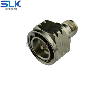 7/16 male to N female straight adapter 50 ohm 5A7M06S-NCF-008
