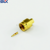 SMA plug straight solder connector for SLF-350 SLG-400 cable 50 ohm 5MAM15S-A465