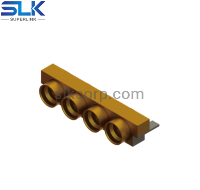 SSMP plug straight connector for pcb 50 ohm 5MPM25S-P00
