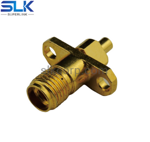 3.5mm jack straight connector for .047 cable 50 ohm 5P3F15S-S04