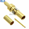 1.0/2.3 jack straight solder connector for Tflex 405 cable 50 ohm 5A1F15S-A82