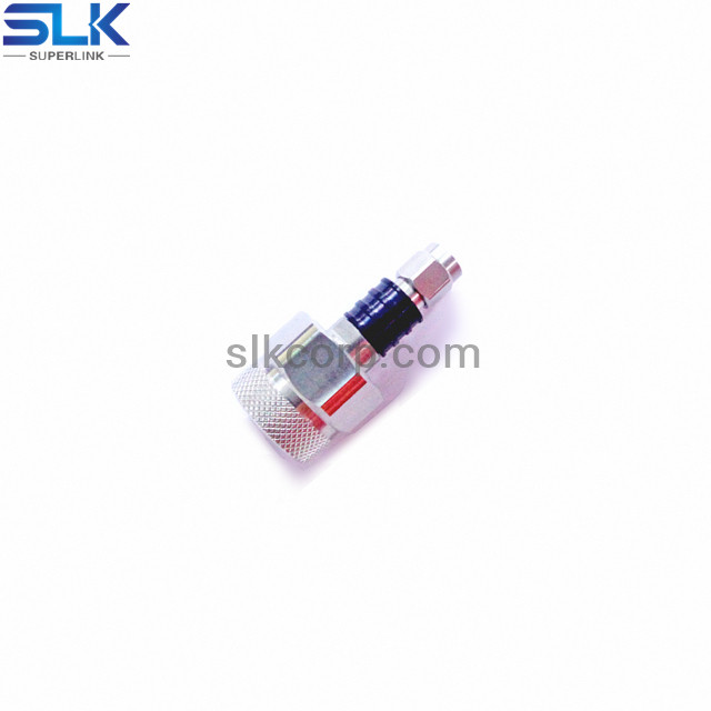 N male to 1.0/2.3 female straight adapter 75 ohm 7NCM06S-A1F