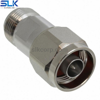 N 75Ω female to N 50Ω male straight adapter 7NCF06S-NCM