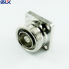 "7/16 jack straight solder connector for .141"" cable 4 holes flange 50 ohm 5A7F55S-S02-003"