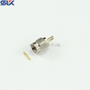 SMA plug straight crimp connector for 2.5D-HQ cable 50 ohm 5MAM11S-A395
