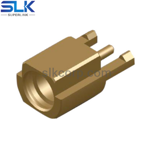 MMCX jack straight connector for pcb end launch 50 ohm 5MCF05S-P01