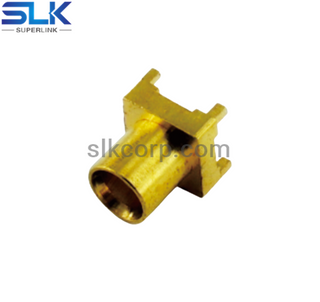 MCX jack straight connector for pcb smt 50 ohm 5MXF25S-P41-006