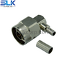N plug right angle crimp connector for 2.5D-HQ super cable 50 ohm 5NCM11R-A395